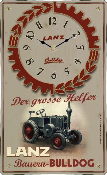 Vintage-Uhr Lanz Bulldog