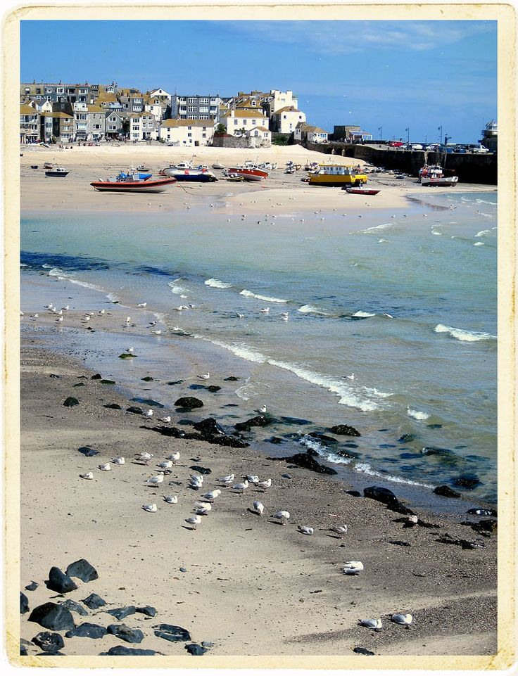 St. Ives, Cornwall.  Must go to Cornwall, both sides of my family originate there. According to google maps there is an intersection where the streets which bear the names of my fathers last name and my mothers maiden name meet! Neither are common last names, Tregear & Spargo  #hipmunkBL