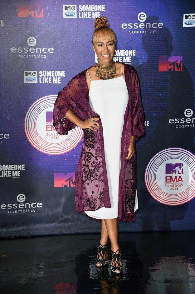 Emeli Sande At The 2014 MTV EMA's