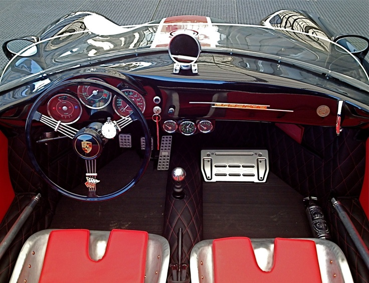 Dutch Porsche 356 Speedster Replica Interior Wow