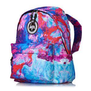 Hype Backpacks - Hype Elegance Backpack - Blue/Red/Pink