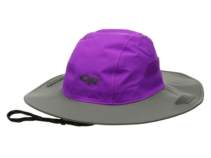 Outdoor Research Kids Seattle Sombrero (Toddler/Little Kids/Big Kids) Knit Hats Ultraviolet/Pewter