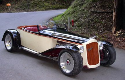 Peter Portugal Custom Cars, Packard with Viper V10 engine
