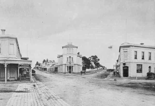 St Kilda Junction in Victoria in 1870.