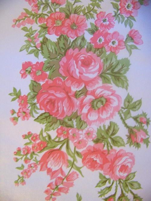 rose vintage wallpaper