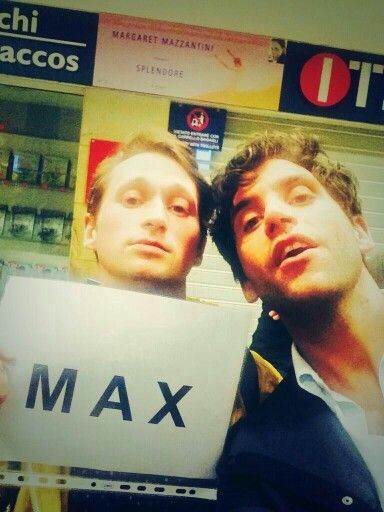Mika and Max in Italy today!