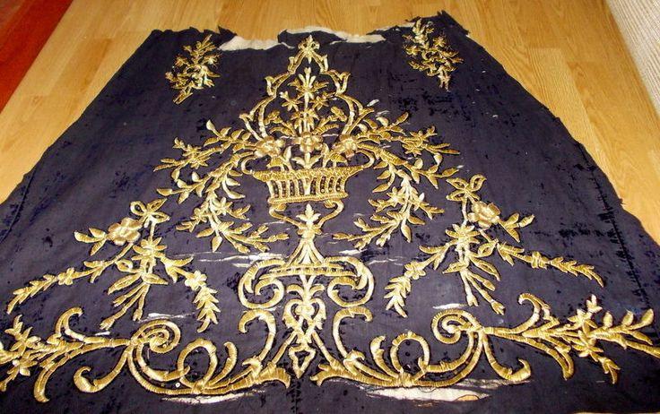 Ottoman 19 th century velvet bindalli