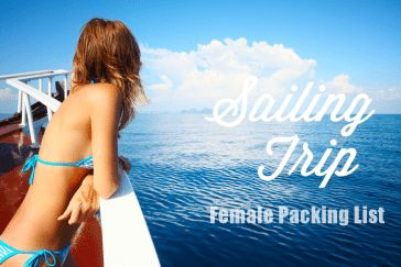 sailing trip packing list