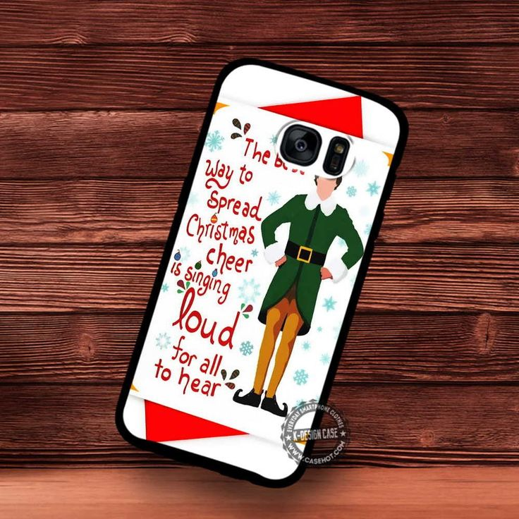 Funny Christmas Card Elf Holiday Cute - Samsung Galaxy S7 S6 S5 Note 7 Cases & Covers