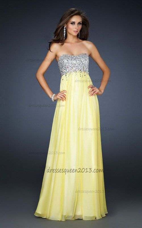 A yellow prom dress 4 you