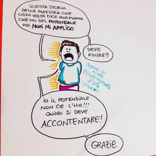 Capito maestra? #vignetta #scuola #studenteincrisi #comic #comix #nonsiapplica #disegno #drawing #drawings #draw