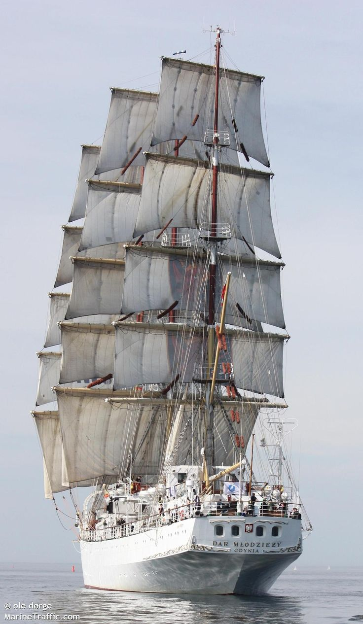 Dar Mlodziezy pic from Marine traffic.com                              …