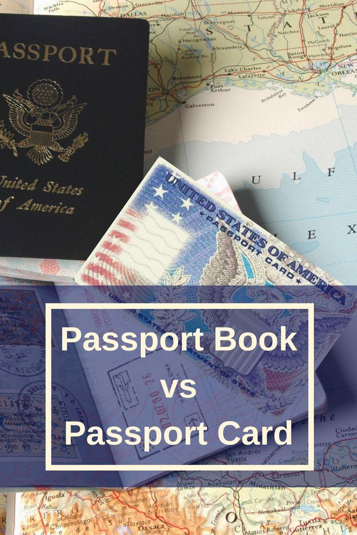 passport book vs passport card!