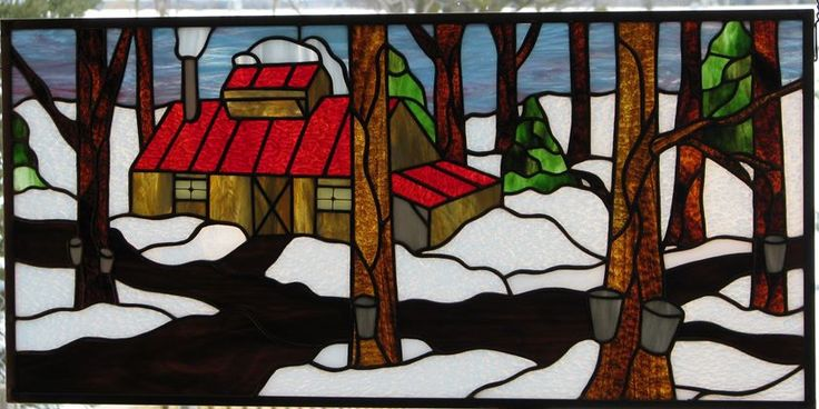 Sugar Shack by Wendy's Stained Glass