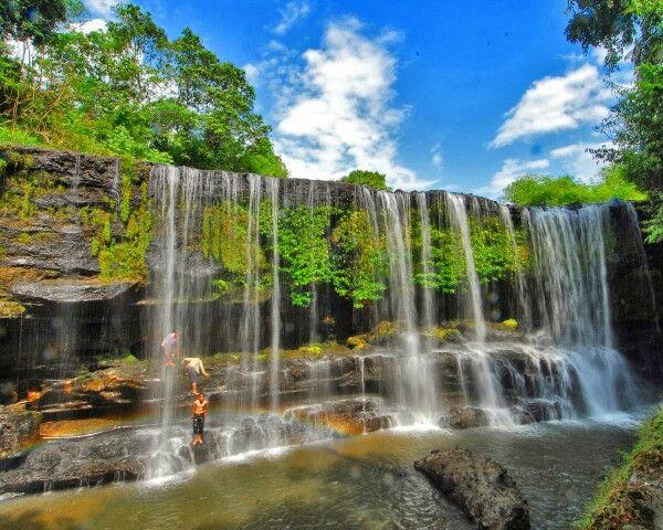 Temam Waterfull South Sumatera Indonesia