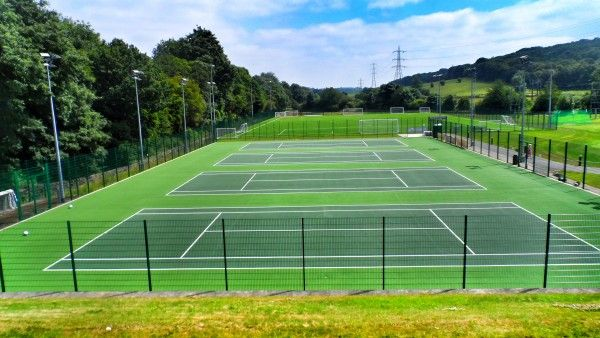 Tennis Court Repair Maintenance in Angus 5