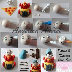 STEP BY STEP NODDY BY PART N °3 BY:  Les Ateliers d'Angelica -Angelica Aublet