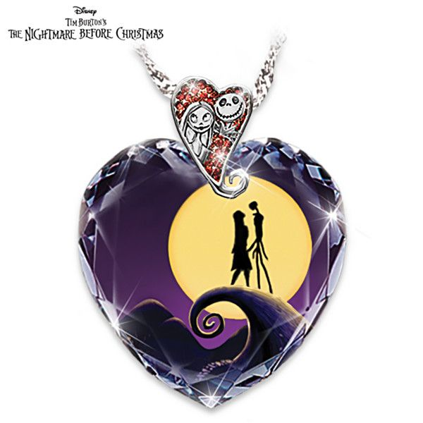 Tim Burton's The Nightmare Before Christmas Pendant Necklace http://m.bradford.com.au/products/0118084001_halloween-cuckoo-clock.html