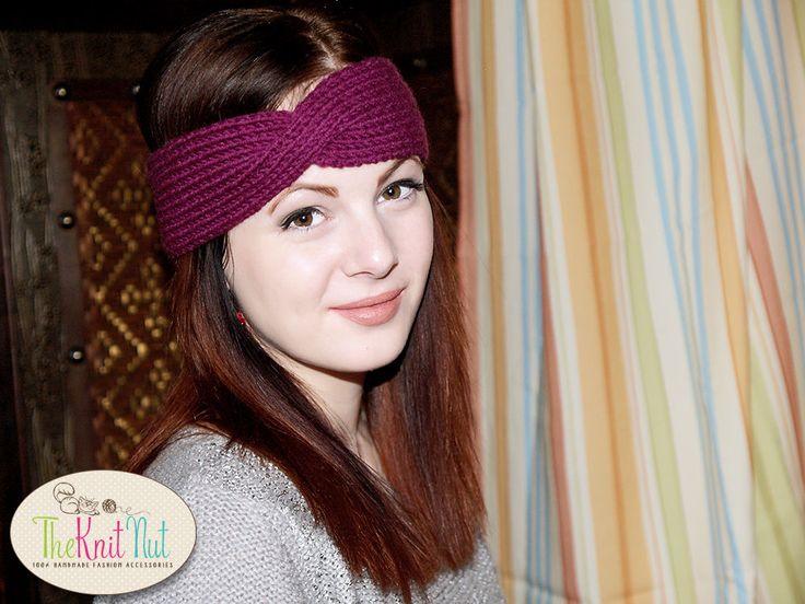 ❦✰ Twist #Turban Headband, Knit Headband, #Twisted Headband, #Turban Headban... Giftidea http://etsy.me/2gtvqNK