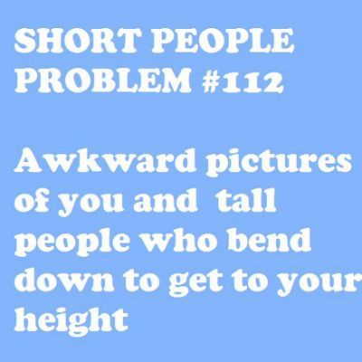 Short People Problems | Short