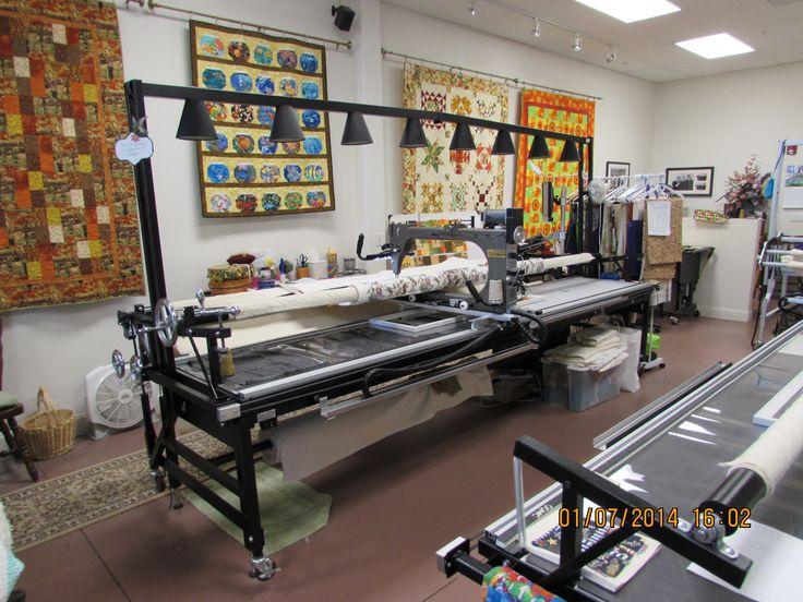 The Last Stitch Digital Longarm Quilting Studio 3 Machines 1 Computer 1 Rent 1 Free Motion