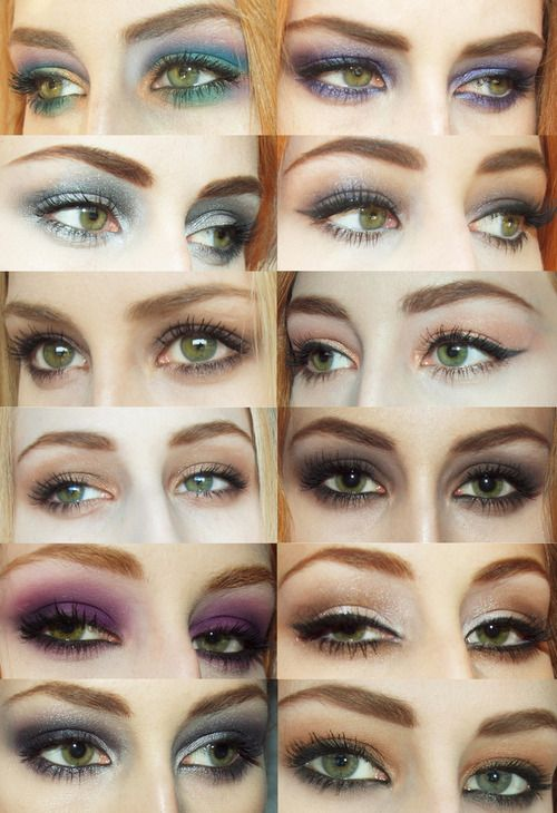 Makeup inspiration for Ginger Hair / Green Eyes