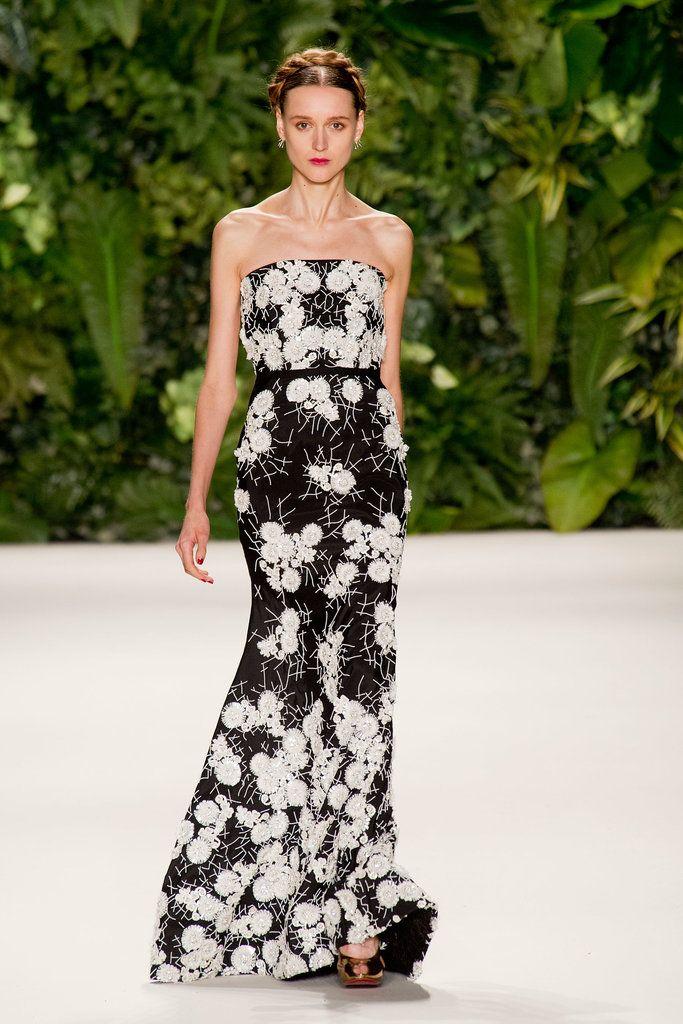 Naeem Khan Spring 2014 Runway Show | NY Fashion Week | POPSUGAR Fashion