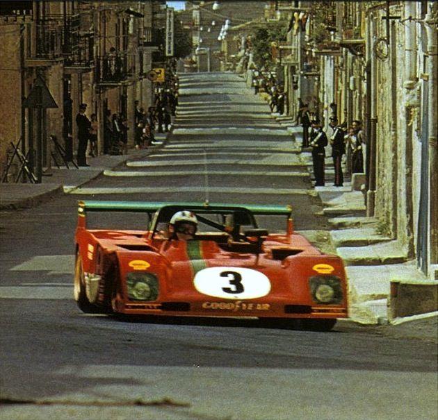 Ferrari 312 PB at1973 Targa Florio