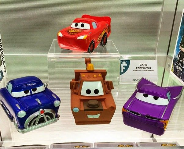 Cars POP! Vinyls Pixar Brasil Blog: Toy Fair 2015 New York