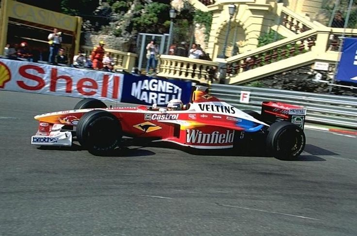 1999 GP Monaco (Alessandro Zanardi) Williams FW21 - Supertec