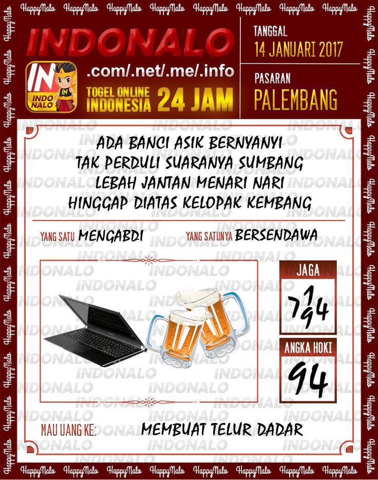 Kode Hoki 2D Togel Wap Online Live Draw 4D Indonalo Palembang 14 Januari 2017