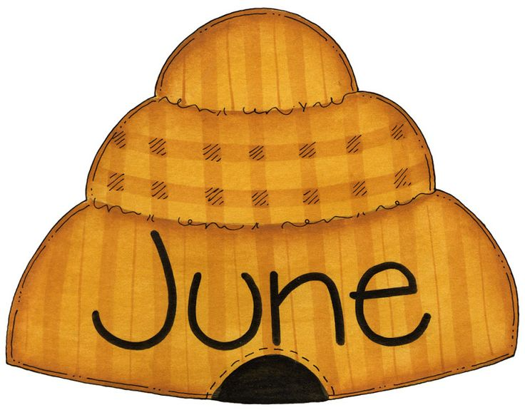 June Calendar Heading Clipart : Best images about clipart months on pinterest seasons