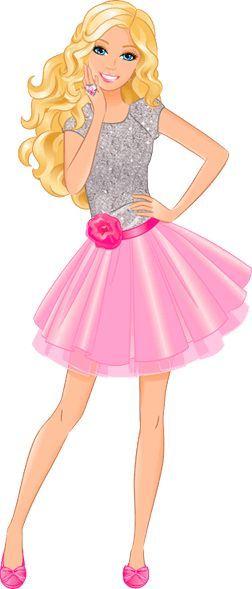 Transparentes: Barbie dibujos