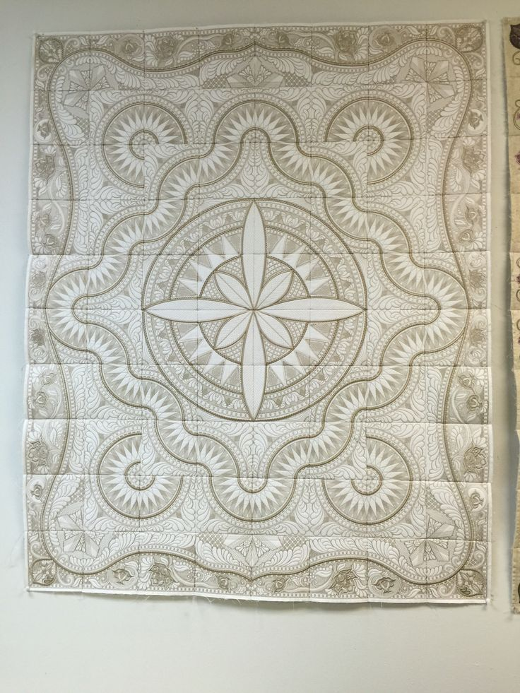 25+ unique Whole cloth quilts ideas on Pinterest Hand quilting designs, Machine quilting ...