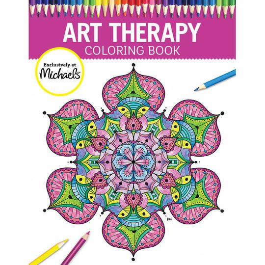 Relax And Feel The Stress Melt Away As You Color 56 Beautiful Designs In This Michaels Exclusive Coloring Book