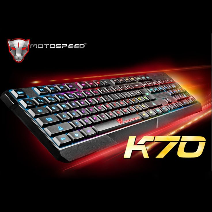 USB Wired 104 Keys Gaming E-sport Keyboard LED Colorful Backlight Illuminated for PC Laptop Notebook //Price: $29.98 & FREE Shipping //     #style #love #dress #beauty #beautiful