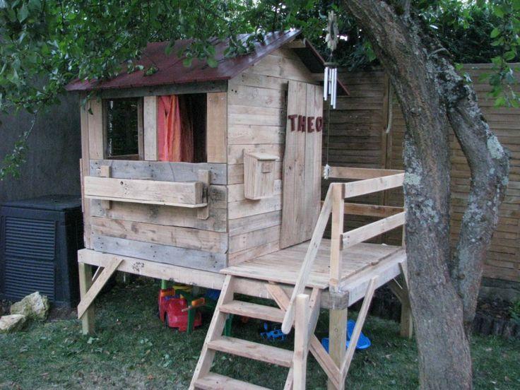 Cabane Pour Enfants / Kids Playhouse