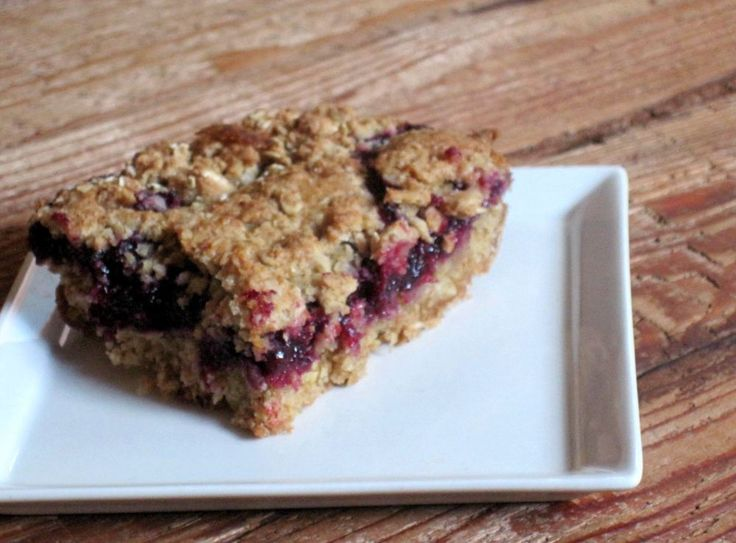 Gluten Free Blueberry Pie Bars | GF Junk | Pinterest