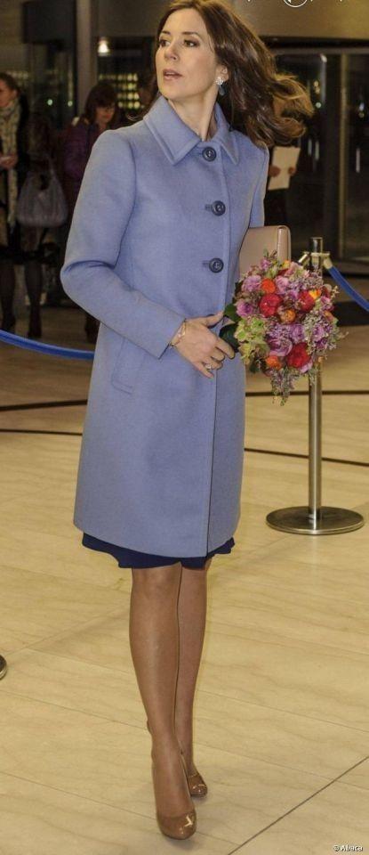 HRH Crown Princess Mary of Denmark.