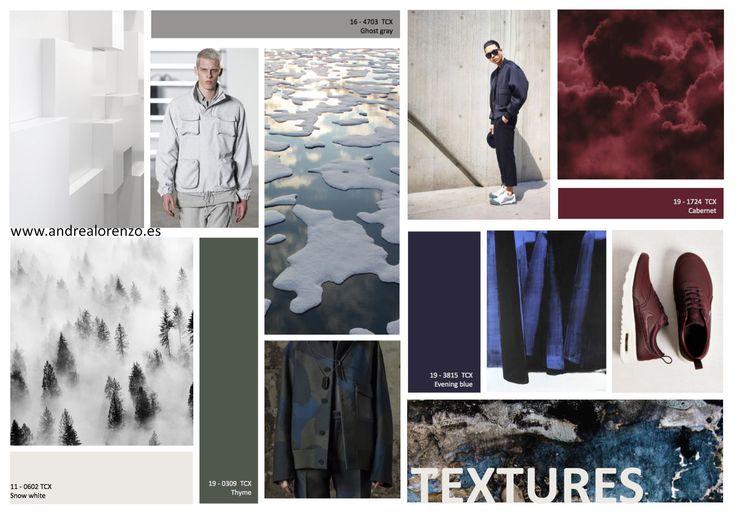 moodboard, fall 2016, winter, fashion, design, mood, textures, moda, diseño, texturas, tendencias, trends, inspiración, tablero inspiración, nieve, snow, belleza, naturaleza, carta color, man, men,