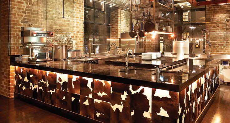 industrial restaurant design | Pony Lounge & Dining - The Rocks - urban walkabout sydney
