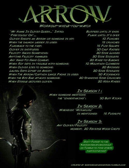 Arrow Workout!