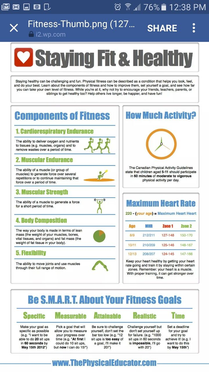 what is physical fitness test and its components