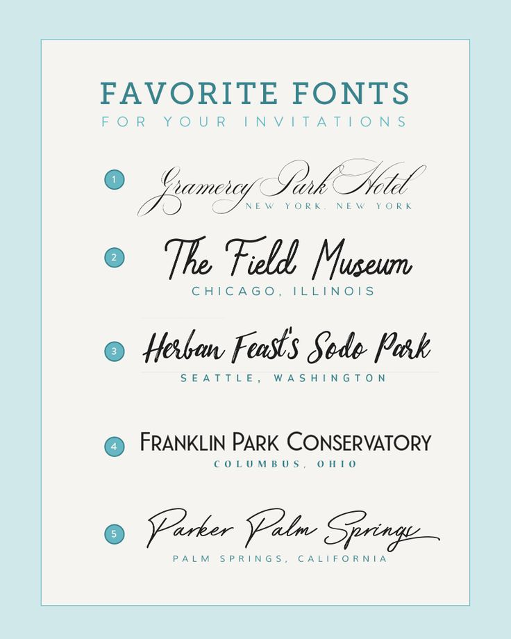 18 best Wedding Invitation Font Combinations images on ...