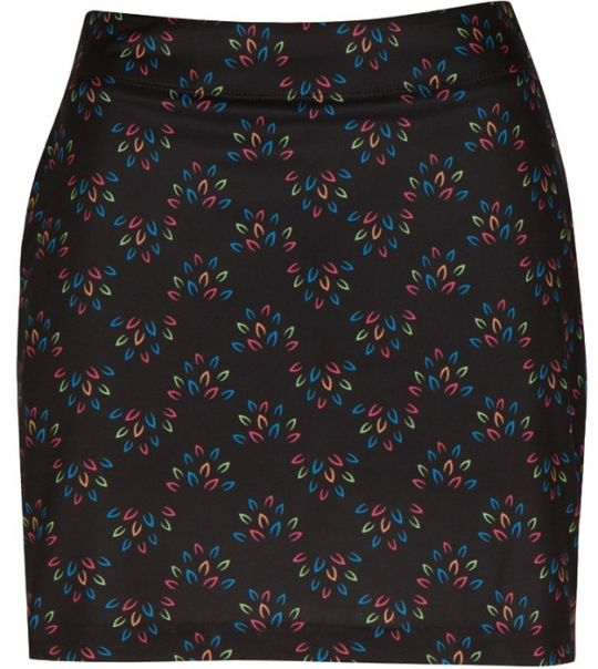 Essentials (Black) Greg Norman Ladies Geo Print Knit Golf Skort! Find more fashionable ladies outfits at #lorisgolfshoppe