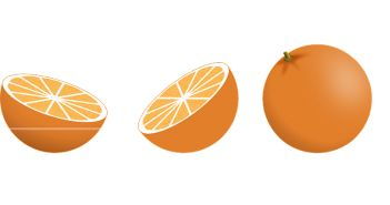 Naranja para el olor a fritura