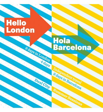 interested in fine art, design, retail, media or architectural history short courses in Europe this Summer ?    http://www.csm.arts.ac.uk/dual-city-courses/londonbarcelonasummercourses/