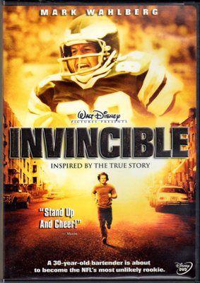 Invincible Mark Wahlberg Inspired True Story DVD Football Movie