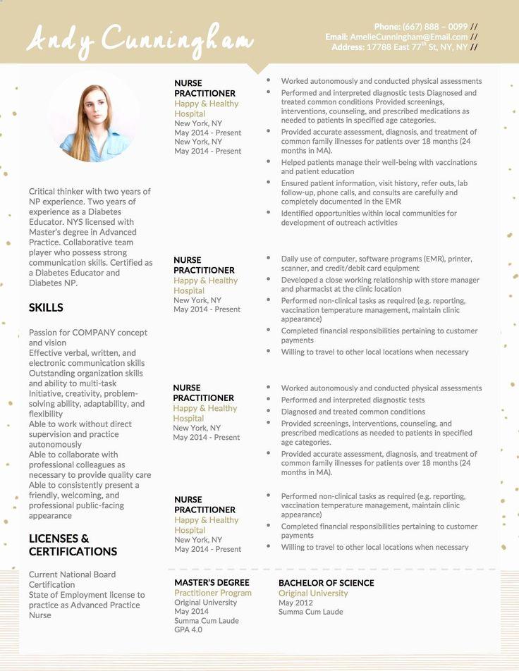 25 Entry Level Nurse Practitioner Resume in 2020 Nurse
