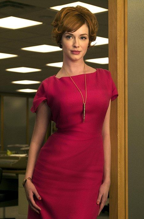 Icon: Christina Hendricks as Joan Holloway in the TV series Mad Men